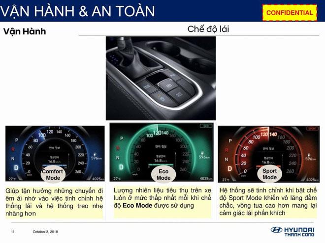 Hyundai SantaFe 2019 lộ thông số kỹ thuật, sắp ra mắt Việt Nam - 9