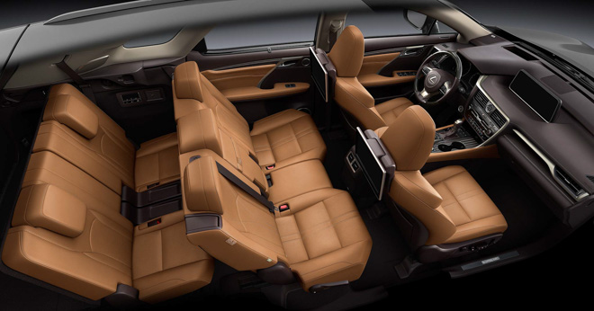 Ảnh thực tế Lexus RX350L 7 chỗ giá 4,09 tỷ đồng - 11