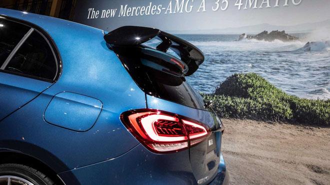 Mercedes-Benz A35 AMG chính thức ra mắt tại Paris Motor Show - 4