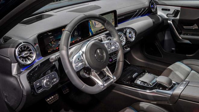 Mercedes-Benz A35 AMG chính thức ra mắt tại Paris Motor Show - 6
