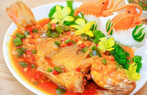 Cách làm món cá diêu hồng sốt cà chua siêu ngon hấp dẫn cả nhà - 4