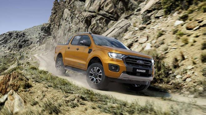 """Ford Ranger tiếp tục giữ ngôi vương """"bán tải bán chạy nhất Việt Nam"""" với 624 xe bán ra trong tháng 9 - 4"""