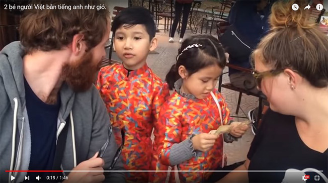 """2 em bé Việt nói tiếng Anh """"như gió"""" và bí quyết bất ngờ của phụ huynh - 1"""