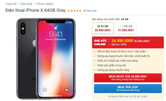 NÓNG: iPhone đồng loạt giảm giá - 1