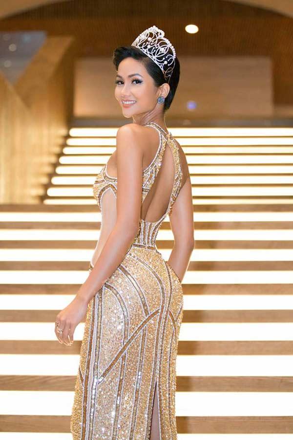 Hoa hậu người Ê Đê gia nhập đội ngũ người đẹp có vòng 3 gần 1 mét - 10