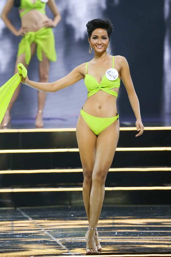 Hoa hậu người Ê Đê gia nhập đội ngũ người đẹp có vòng 3 gần 1 mét - 2