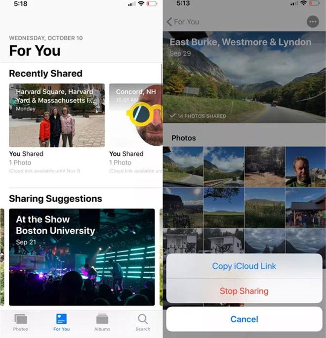 Thủ thuật iOS 12: Cách dễ nhất để chia sẻ ảnh và video trên iPhone - 3