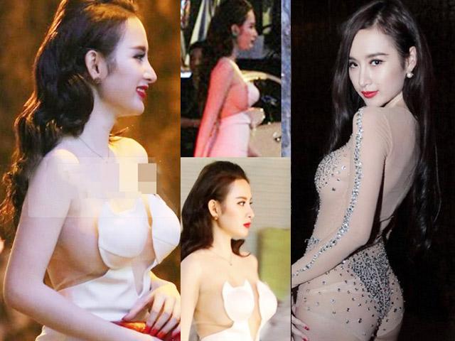 2 bộ đồ bị cho là phản cảm nhất của Angela Phương Trinh