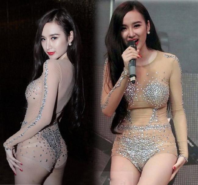 2 bộ đồ bị cho là phản cảm nhất của Angela Phương Trinh - 1
