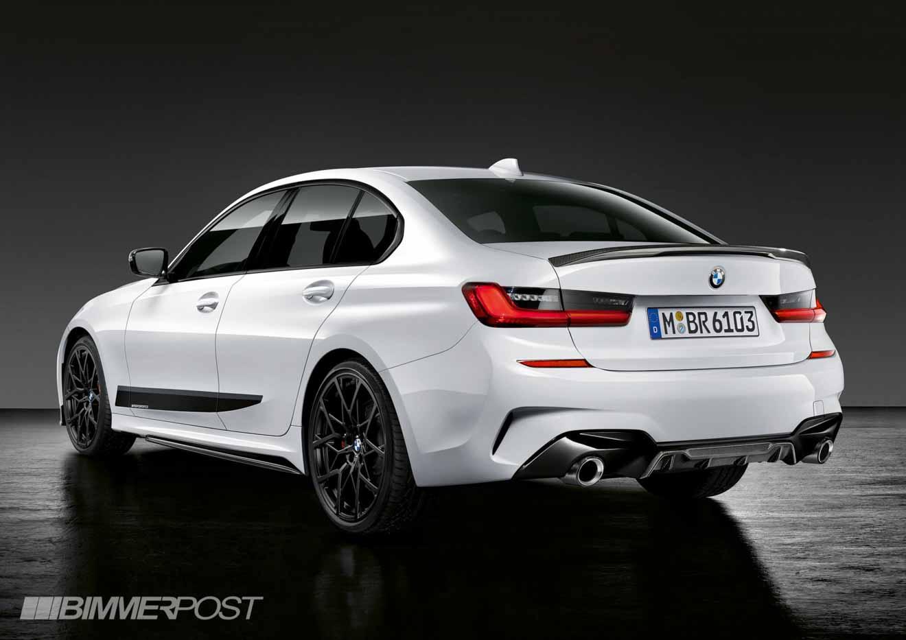 """BMW 3-Series 2019 cực """"ngầu"""" với gói phụ kiện thể thao M-Performance - 4"""