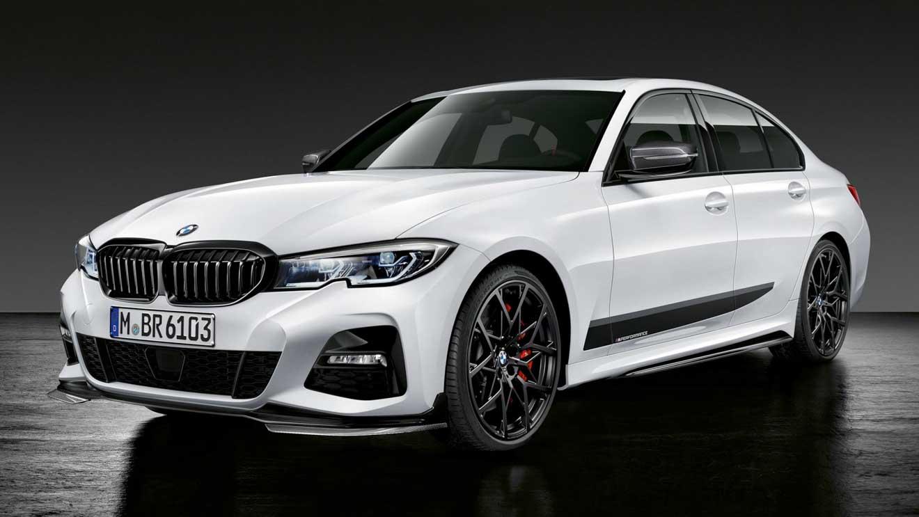 """BMW 3-Series 2019 cực """"ngầu"""" với gói phụ kiện thể thao M-Performance - 1"""