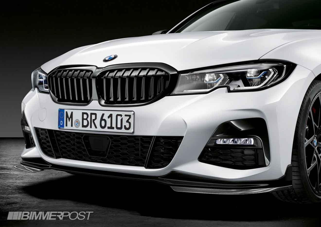 """BMW 3-Series 2019 cực """"ngầu"""" với gói phụ kiện thể thao M-Performance - 2"""