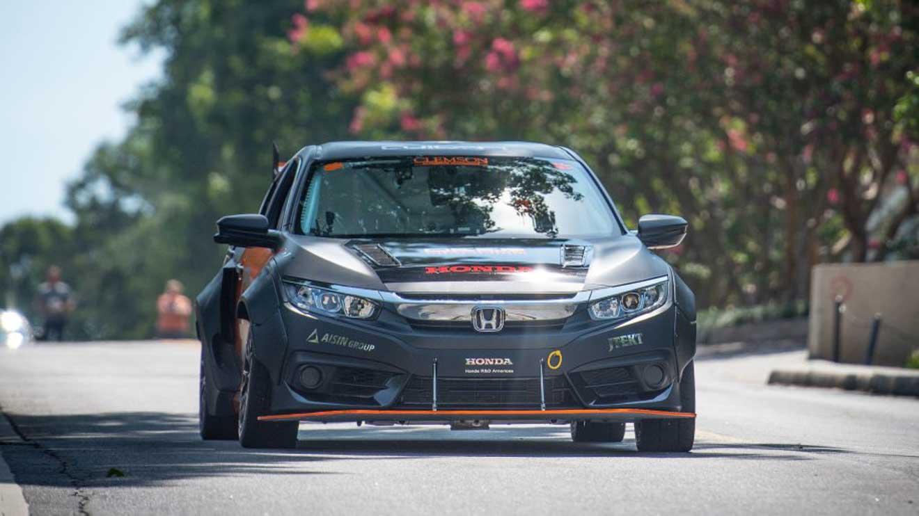 Honda Civic mạnh hơn 600 mã lực qua bàn tay của nhóm sinh viên đại học - 4