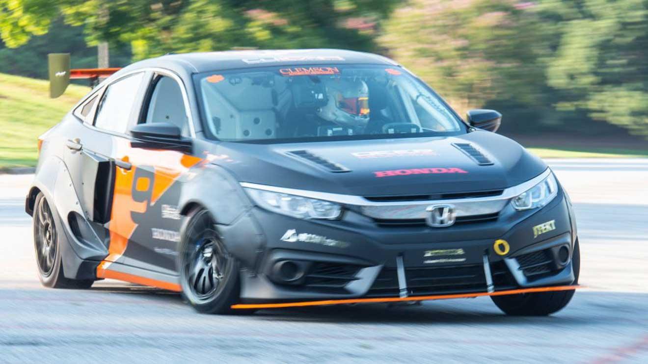 Honda Civic mạnh hơn 600 mã lực qua bàn tay của nhóm sinh viên đại học - 7