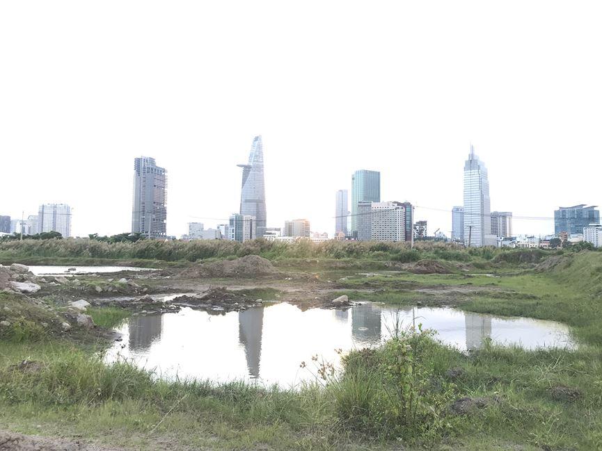 Cận cảnh khu đất dự kiến xây quảng trường Thủ Thiêm 2.000 tỷ - 10