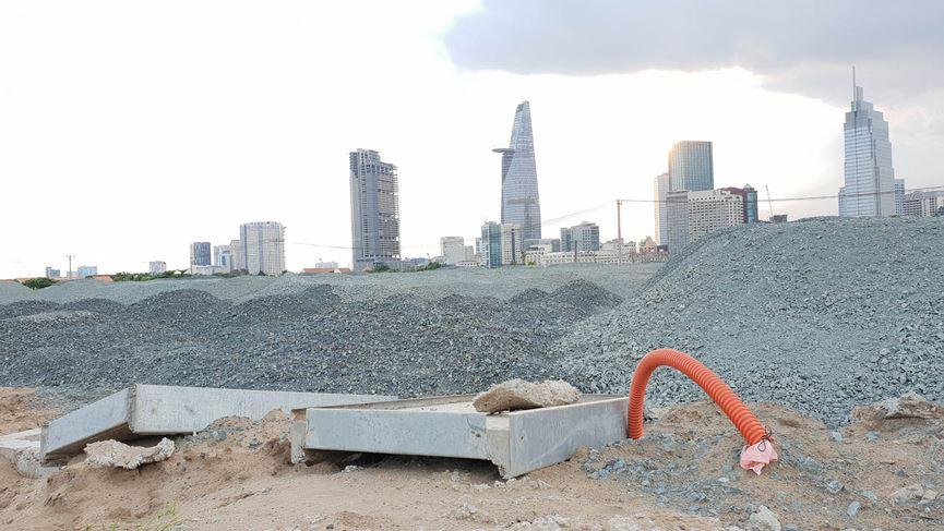 Cận cảnh khu đất dự kiến xây quảng trường Thủ Thiêm 2.000 tỷ - 13