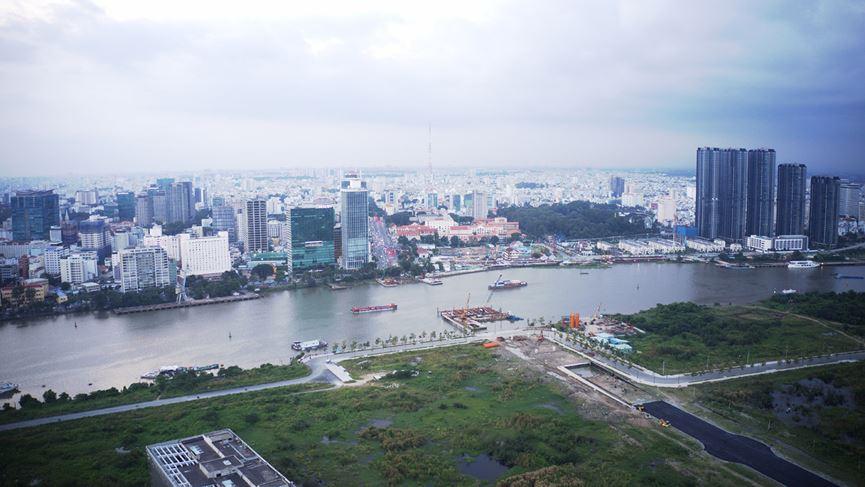 Cận cảnh khu đất dự kiến xây quảng trường Thủ Thiêm 2.000 tỷ - 15