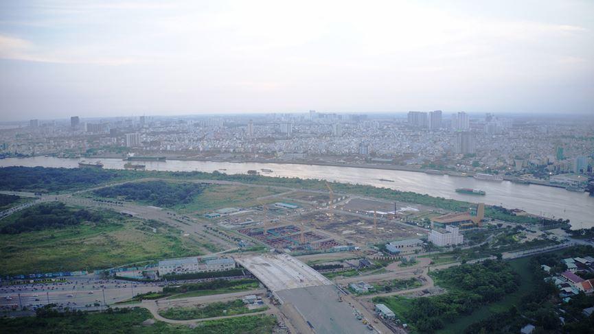 Cận cảnh khu đất dự kiến xây quảng trường Thủ Thiêm 2.000 tỷ - 16
