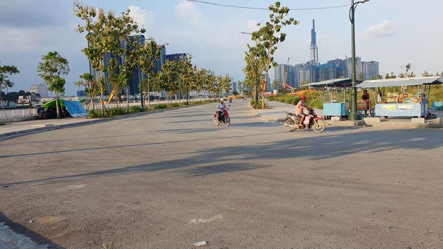Cận cảnh khu đất dự kiến xây quảng trường Thủ Thiêm 2.000 tỷ - 3