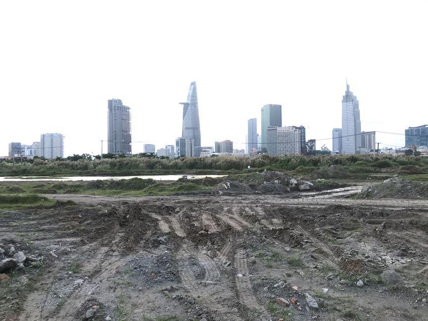 Cận cảnh khu đất dự kiến xây quảng trường Thủ Thiêm 2.000 tỷ - 4