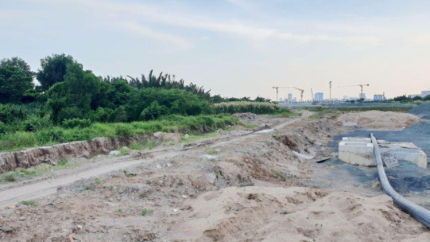 Cận cảnh khu đất dự kiến xây quảng trường Thủ Thiêm 2.000 tỷ - 7