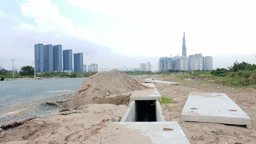 Cận cảnh khu đất dự kiến xây quảng trường Thủ Thiêm 2.000 tỷ - 8