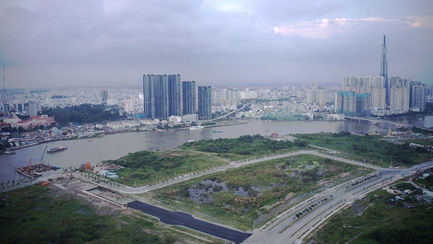Cận cảnh khu đất dự kiến xây quảng trường Thủ Thiêm 2.000 tỷ - 17