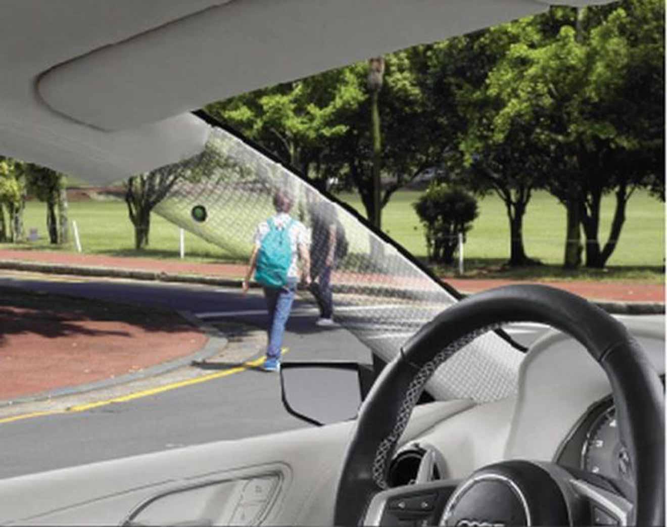 Xe thông minh có cột A tảng hình giúp quan sát góc mù cho ô tô