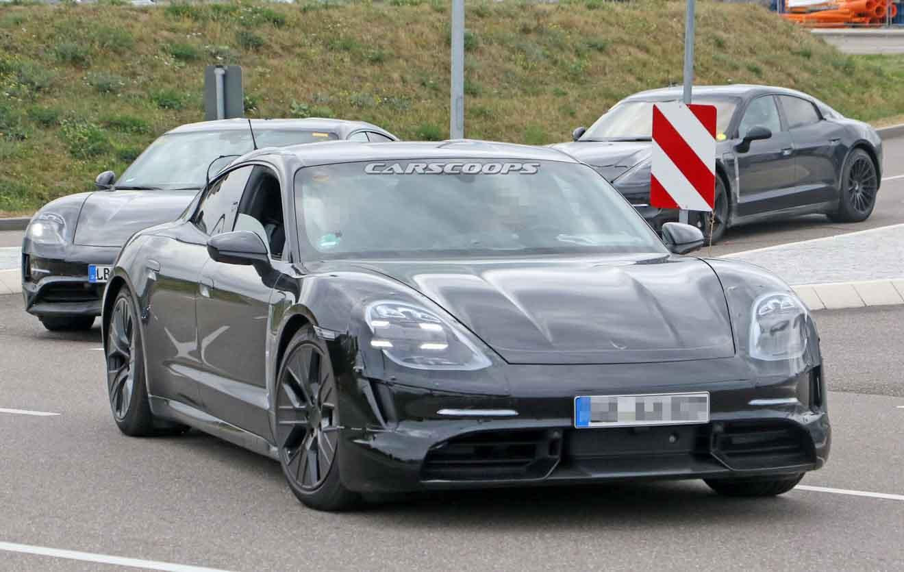 Xe điện Porsche Taycan sẽ có giá nằm giữa Cayenne và Panamera - 2