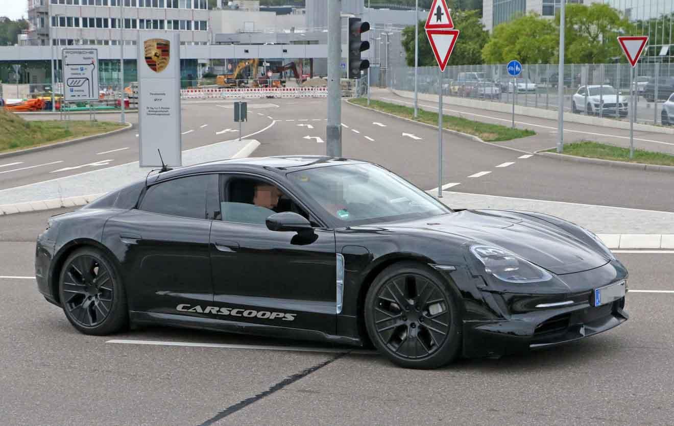 Xe điện Porsche Taycan sẽ có giá nằm giữa Cayenne và Panamera - 4