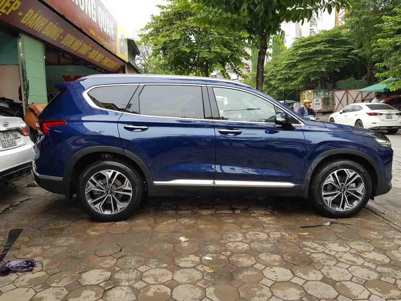 Hyundai SantaFe 2019 bất ngờ xuất hiện trên đường phố Hà Nội - 3