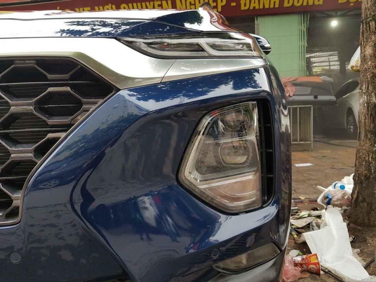 Hyundai SantaFe 2019 bất ngờ xuất hiện trên đường phố Hà Nội - 4