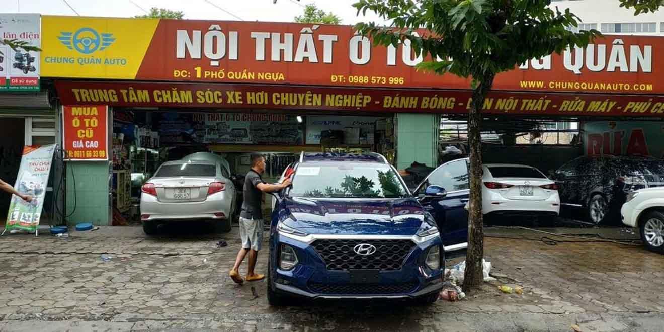 Hyundai SantaFe 2019 bất ngờ xuất hiện trên đường phố Hà Nội - 1