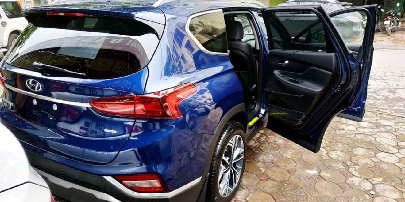 Hyundai SantaFe 2019 bất ngờ xuất hiện trên đường phố Hà Nội - 6