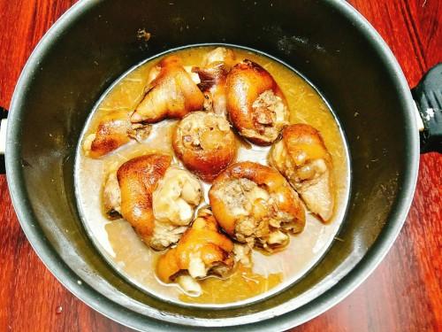 Chân giò nấu giả cầy nóng hổi cho bữa cơm ngày se lạnh - 4