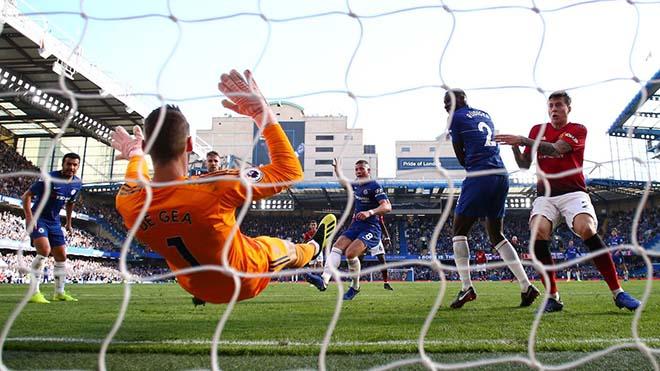 Góc chiến thuật Chelsea - MU: Martial rực rỡ, Sarri cao tay hơn Mourinho - 4