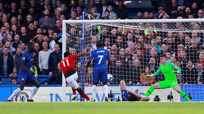 Góc chiến thuật Chelsea - MU: Martial rực rỡ, Sarri cao tay hơn Mourinho - 2