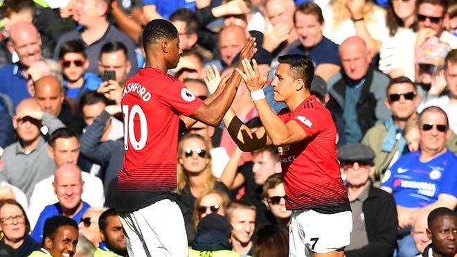 Góc chiến thuật Chelsea - MU: Martial rực rỡ, Sarri cao tay hơn Mourinho - 3