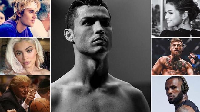 """Ronaldo """"Vua"""" mạng xã hội: Đăng một """"status"""" nhận ngay 17,5 tỷ đồng - 1"""