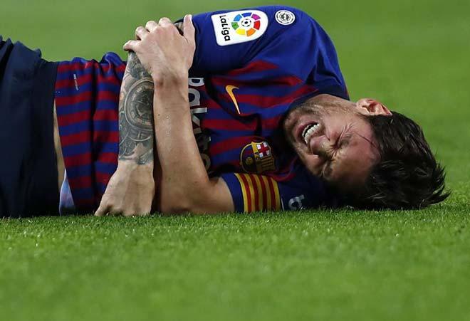 Thảm họa chờ Barca: Messi chấn thương nghỉ 1 tháng, lỡ Siêu kinh điển - 1