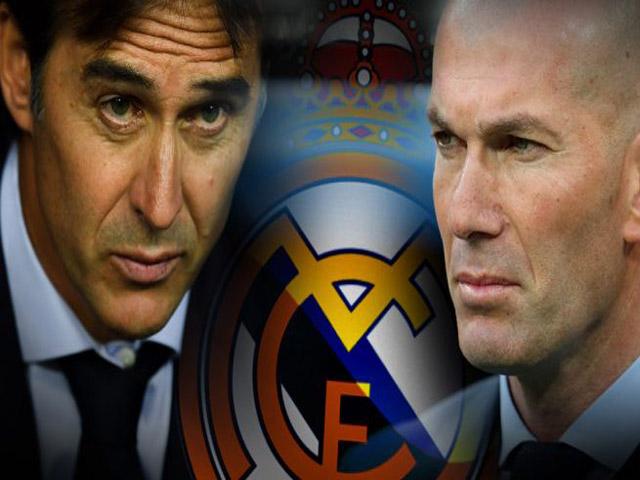 """Real sắp sa thải HLV: Cái lý của Zidane và """"Gã khờ"""" Lopetegui"""