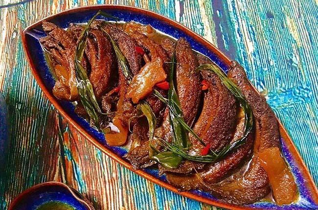 Cá chạch kho lá gừng thịt mỡ thơm ngon chuẩn vị - 1