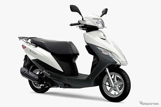 Suzuki Address 125 màu mới ra mắt, thanh lịch hơn - 2