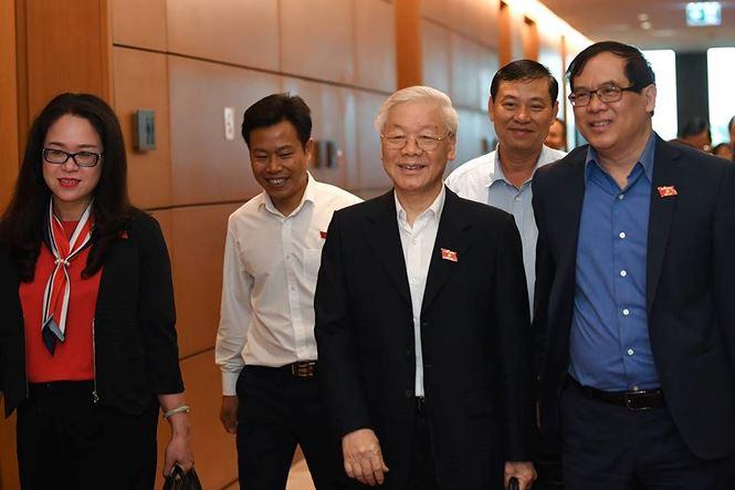 Tổng Bí thư Nguyễn Phú Trọng đắc cử Chủ tịch nước - 4