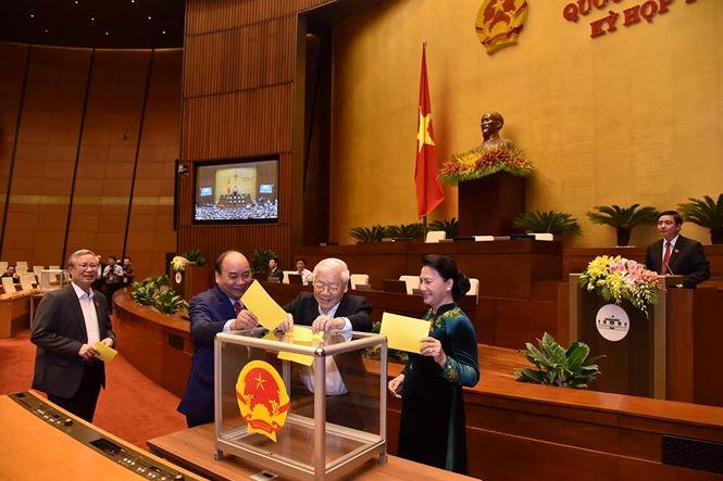 Tổng Bí thư Nguyễn Phú Trọng đắc cử Chủ tịch nước - 5