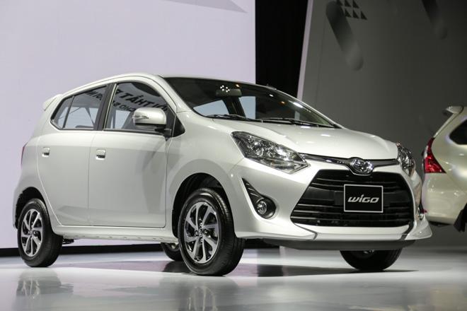 Giá xe Toyota Wigo 2018 cập nhật mới nhất kèm ưu đãi tại đại lí - 2
