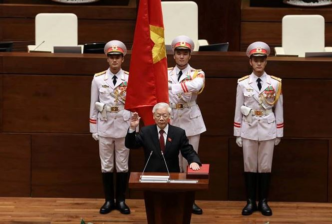 Tổng Bí thư Nguyễn Phú Trọng đắc cử Chủ tịch nước - 2