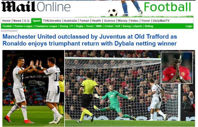 Juventus hạ MU cúp C1: Báo Anh chê Pogba chỉ giỏi làm màu, kém xa Ronaldo - 4