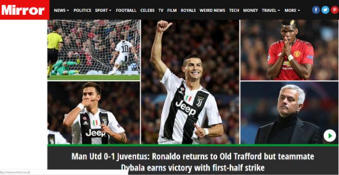 Juventus hạ MU cúp C1: Báo Anh chê Pogba chỉ giỏi làm màu, kém xa Ronaldo - 2