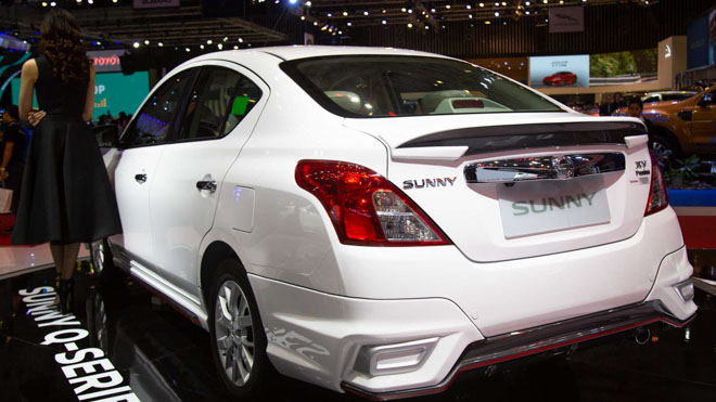 Nissan giới thiệu Sunny Q-Series với gói độ bodylip và một số nâng cấp nội thất; giá bán 568 triệu đồng - 15